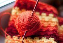 with a woollen yarn