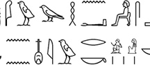 Egyptian Hieroglyphs / by Andis Kaulins