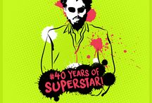 40 Years of Superstar / From the steps of a city bus to the pinnacle of success in the field of Indian Cinema, Rajinikanth's supremacy and stardom turns 40 glorious years.   As a token of gratitude towards his excellence, Digitally Inspired Media dedicates an artsy tribute portraying the most popular dialogues from his masterpieces.