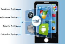 Mobile Application Testing Services / Mobile application shows many challenges while testing since mobile app testing has to be performed on different platforms, devices, networks and OSs. Which is a very difficult process as it needs a lot of time, testing resources and real world testing environment.