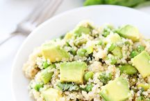 Quinoa 'nd avocado