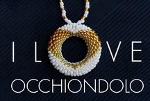 Occhiondolo / collana per occhiali - necklace for eyewear / by Occhi Ondolo