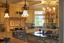 Kitchens / Kitchens and kitchen stuff that I will probably never have. / by Lisa Israel