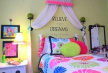 Faiths room ideas / by Tonenia Blecha