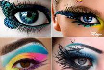 Maquiagem artística lu
