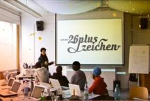 26+ type design workshops / Schrift- und Lettering-Gestaltung mit Theorie, digitaler Technik und analoger Praxis