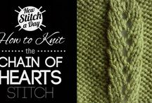 Knit Stitches, Patterns, Motifs and Diagrams / by Brenda Tigano-Thomas Pacheco