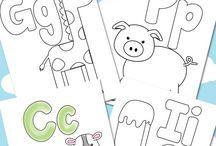 Homeschool alphabet