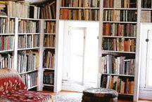 könyvesolc / könyvek elhelyezése