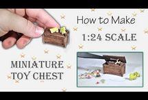 Mini Tutes 1/24 Scale / Half scale specific tutorials