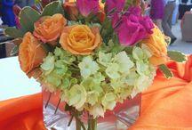 Low Centerpieces / #lowcenterpieces #triasflowers #weddings #events #flowers #elegant #miami www.triasevents.com