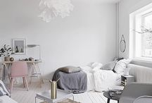 Small Quarters Interior / Compact Living, - how to place your furniture nicely in a small flat;)