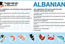 Vegetarian Translation Sheets / Check in at AgogoEats.com/sheets to download high resolution, ready to print vegetarian travel translation sheets in 48 languages.   And best of all, they're 100% free. No questions asked, no signup required.   Also available in vegan.