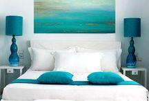 Chic Beach interiors / Love white fresh modern but with the softness of beach