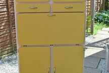 1960'S Kitchen Cupboard