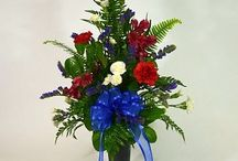 Funeral & Sympathy / Floral arrangements and sprays for funeral or sympathy.