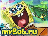 Игры Губка Боб / Картинки из бесплатных онлайн игр со Спанч Бобом, героем мультфильма Губка Боб Квадратные Штаны.