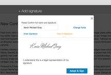 WordPress Digital Signature Plugin / ApproveMe's WordPress Digital Signature Plugin let's you easily build, track and send contracts on your WordPress site.  Legally Binding.  No Monthly Fees.  And on your own site!  www.approveme.me
