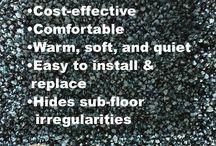 Flooring Types / Benefits of Carpet, Hardwood, Laminate, Vinyl, & Tile Flooring. Take our quiz at: http://www.riemerfloors.com/designcenter/howilive.aspx