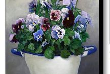 flowers, plants and pottery..... / by Jolanda Toonstra
