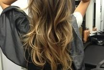 Inspirational colours / Inspirational colours from blondes, brunettes, coppers, reds and balayge (ombré)