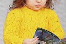 детские кофты вязание