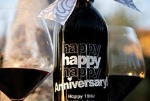 Anniversary Etched Wines