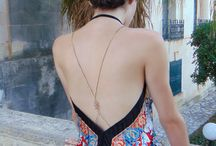 Body Chains / Body jewelry - body chains for summer outfits