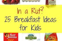 2015 School Breakfast ideas / by Sandi Sorrels