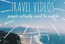 Travel videos inspiration / Inspiring travel videos and useful guides on how to make a good travel video