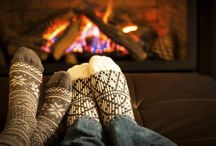 Hygge - Cosiness / Creating that feel good factor, cosy homes, good food and time with family and friends.