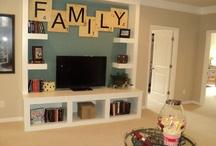 Basement Family Room Transformation