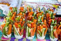 Frugt og grønt snacks