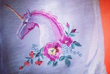 My works, digitizing and embroidery.