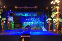 Into the woods / Set for into the woods sol theatre school August 2015