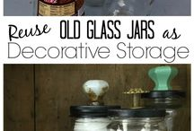 Glass jars diy