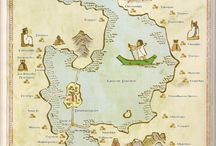 Mystery Maps / We like to pin maps that we know something about, but occasionally one runs across an interesting map on Pinterest, too irresistible to not re-pin!