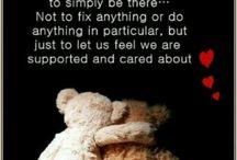 vriendschap /tegen depressie