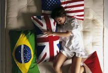 flags of the world pillows Vanessa