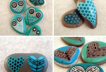 Painted Rock Crafts and/or Party Favors or Gifts