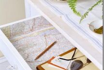 Decorating With Maps And Globes / by Barbara Stevens