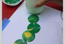 Art table ideas