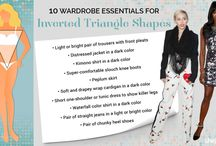Inverted Triangle Bigger on the Top Styling Tips
