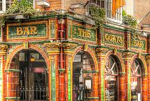 shops, pubs, cafés, galeries