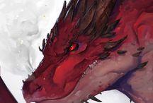 Tattoo Dragons&Phoenix
