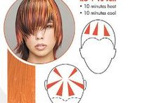 hair sheet for haircolouring