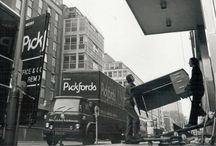 Back in the day / Pickfords through the ages. Old timey photos as featured in our Twitter feed: www.twitter.com/pickfords