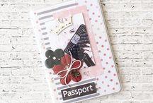 Бумажные обложки на паспорт