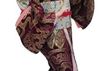 Amazon - Oriental Dolls / Highly collectible, these Japanese lady figurines from ancient Japan make a wonderful home decoration or thoughtful gift for those interested in the by-gone times of the Orient. Beautifully hand-crafted Chinese dolls. These dolls depict ladies from ancient China, wearing traditional costumes they exhibit exquisite attention to detail in their design and creation. Decorate your home with the style of the Orient with these very collectible Oriental dolls.