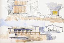 Architecture - Skici / Sketches